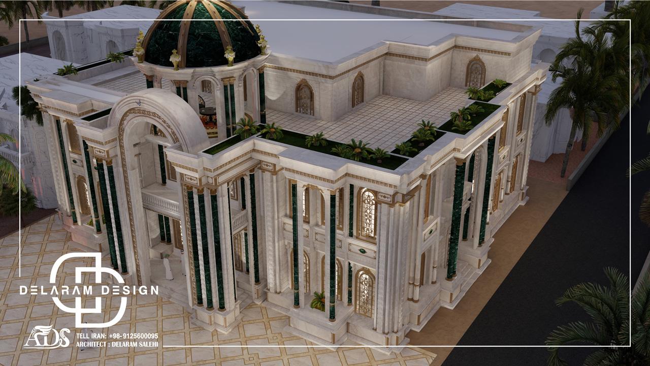 طراحی خارجی ویلا در قطر 01