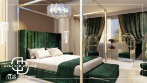 Interior design of the main bedroom 04