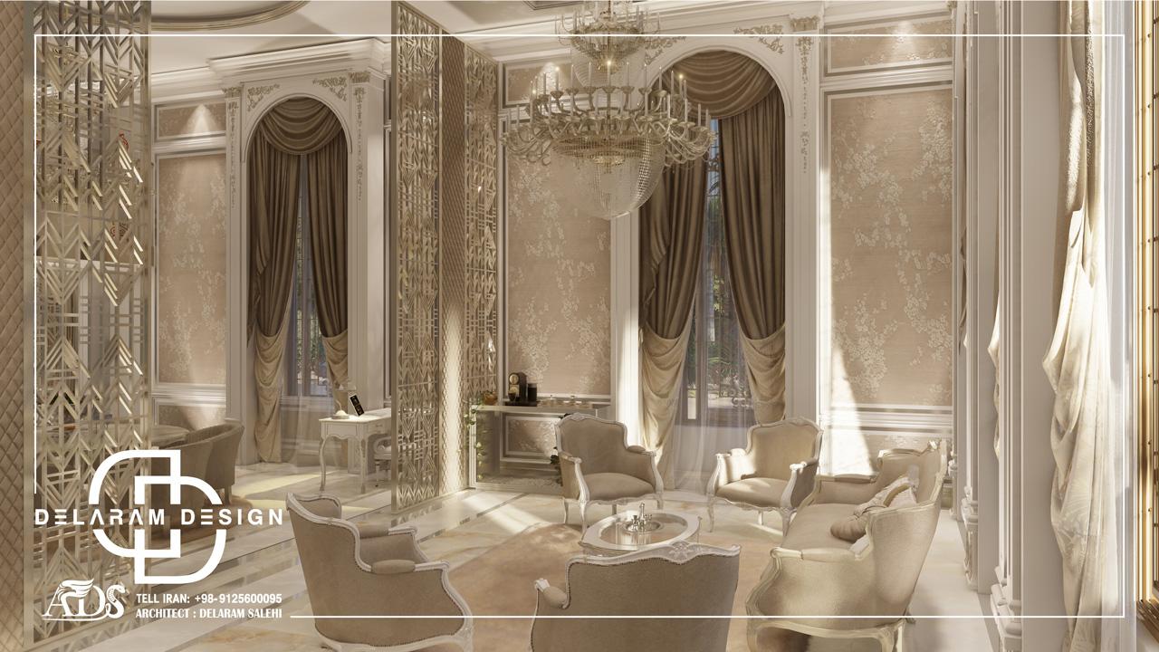 طراحی داخلی اتاق خواب اصلی در قطر 01
