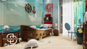 Interior design of a boy's bedroom 03