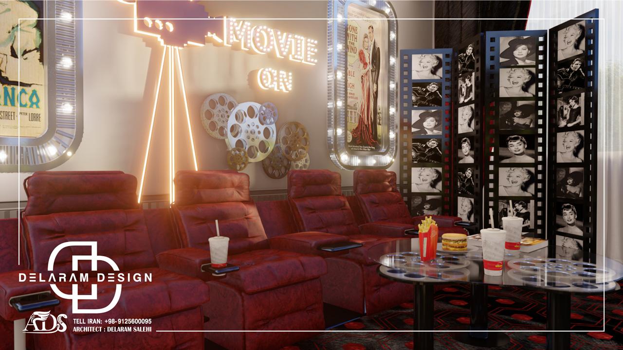 طراحی داخلی اتاق فیلم و سینما ترابی 01