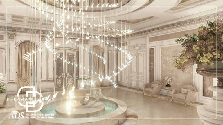طراحی داخلی راهرو در قطر