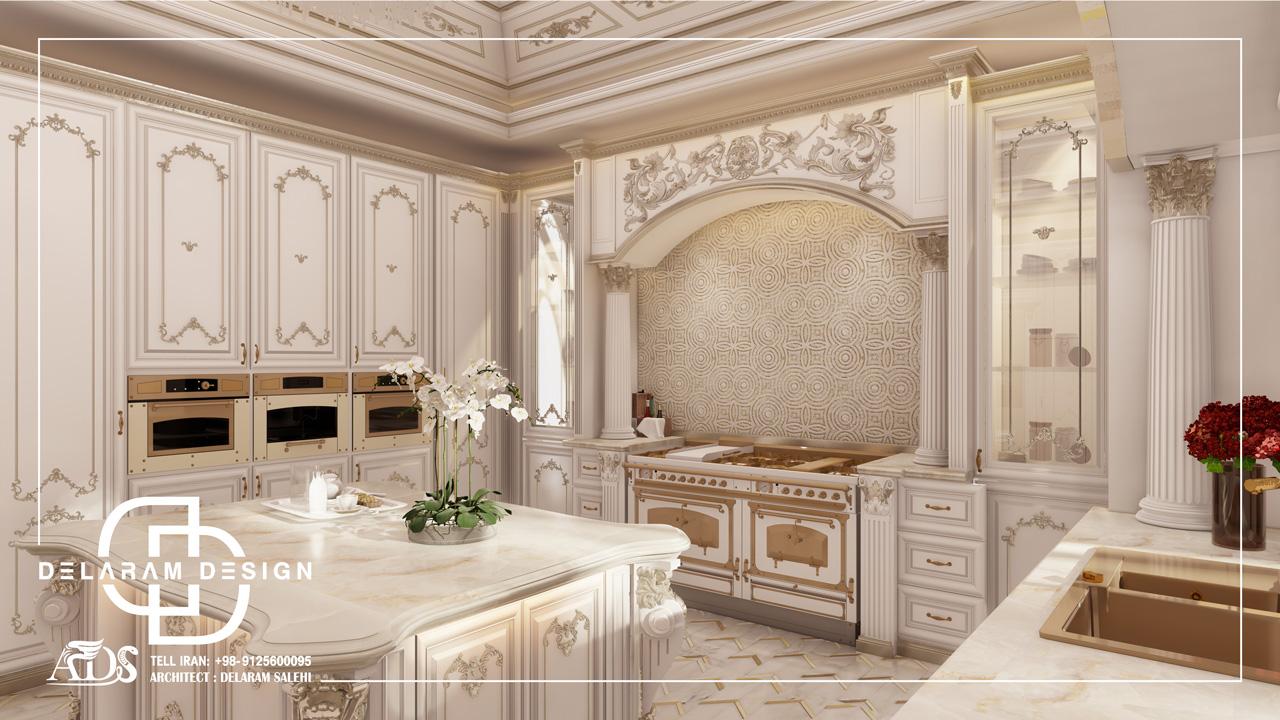 طراحی داخلی آشپزخانه در قطر