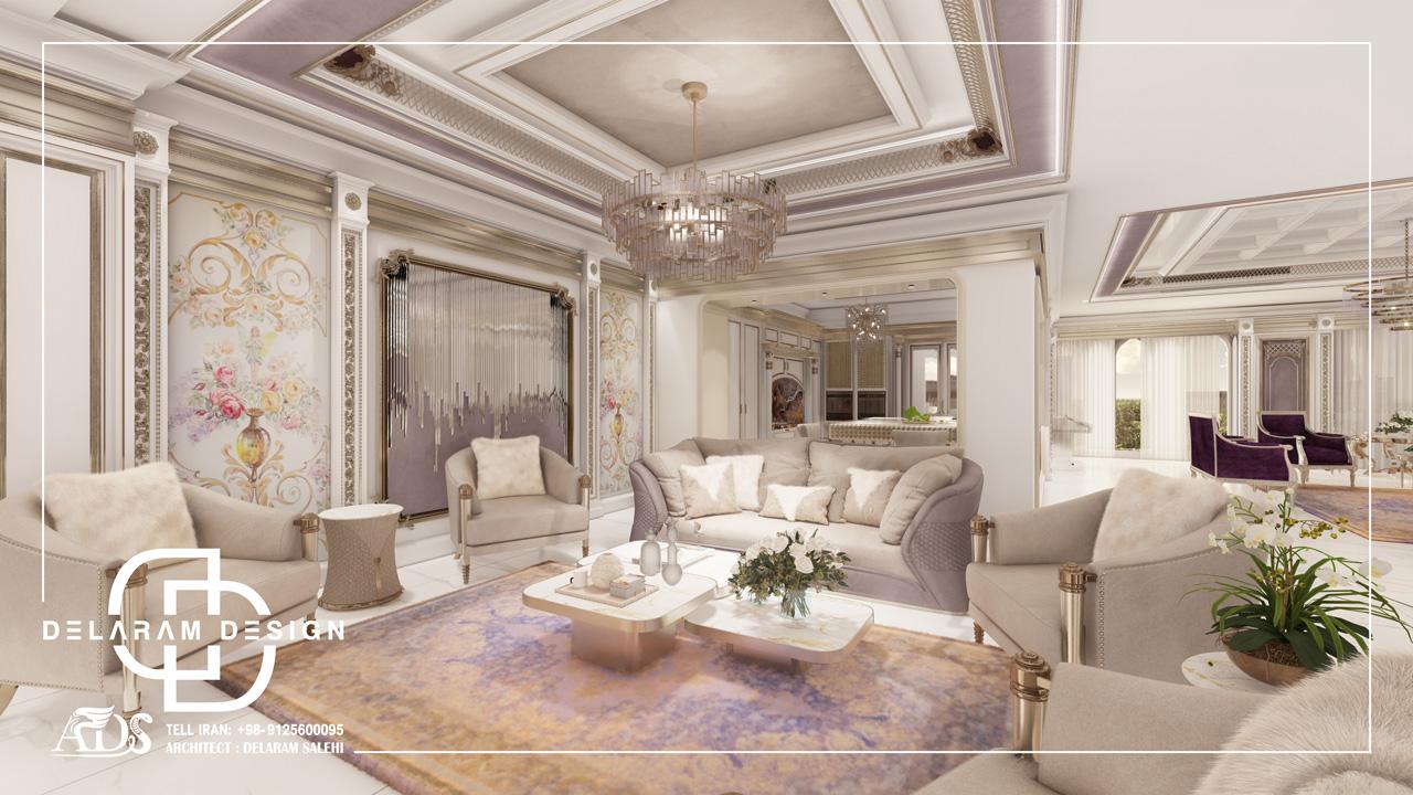 طراحی داخلی اتاق نشیمن و اتاق غذاخوری و اتاق تلویزیون حمزه زاده 05