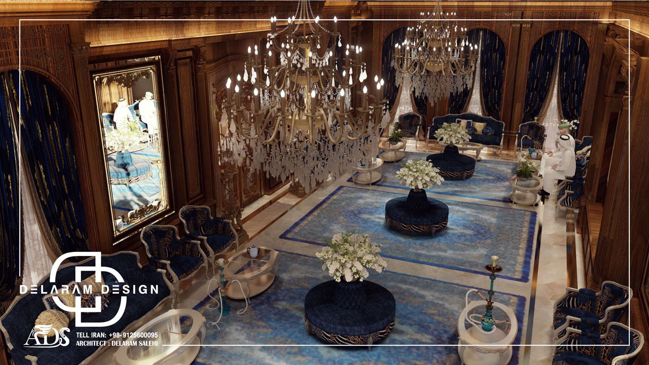 طراحی داخلی مجلس در قطر 02