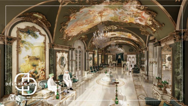 طراحی داخلی مجلس در قطر 01