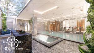 Pool interior design 01