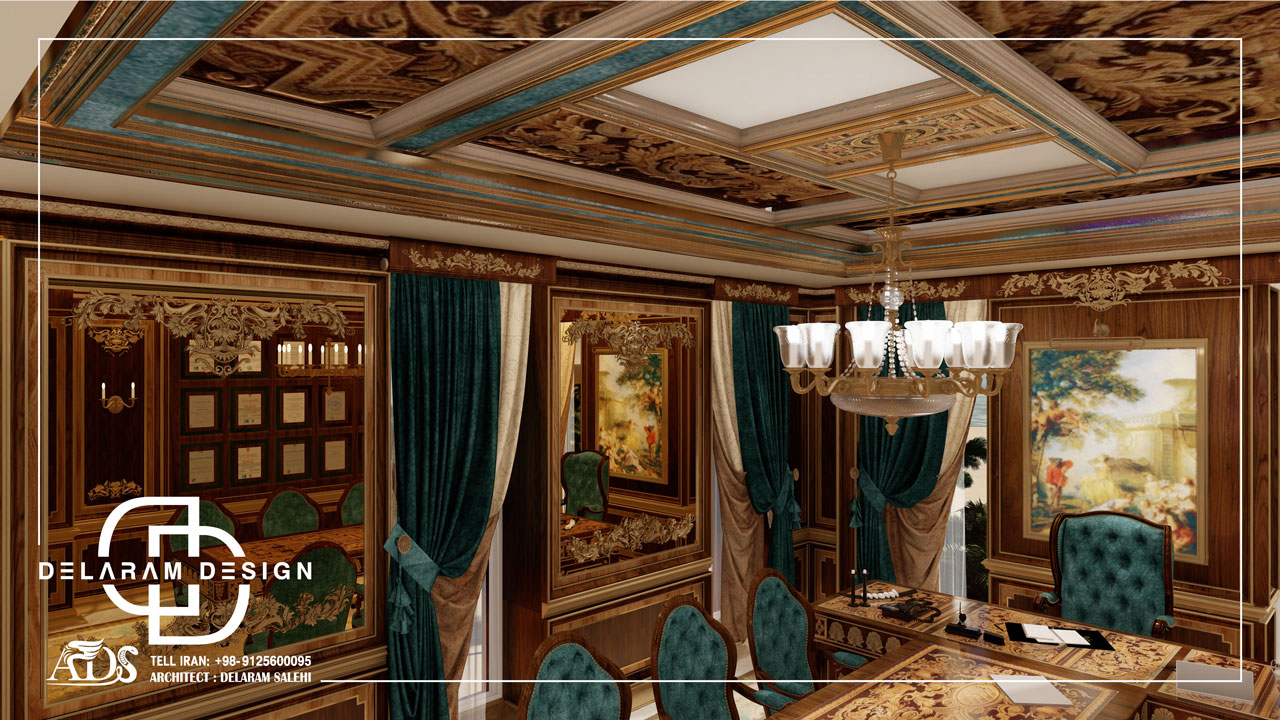 طراحی داخلی شوروم در قطر 01