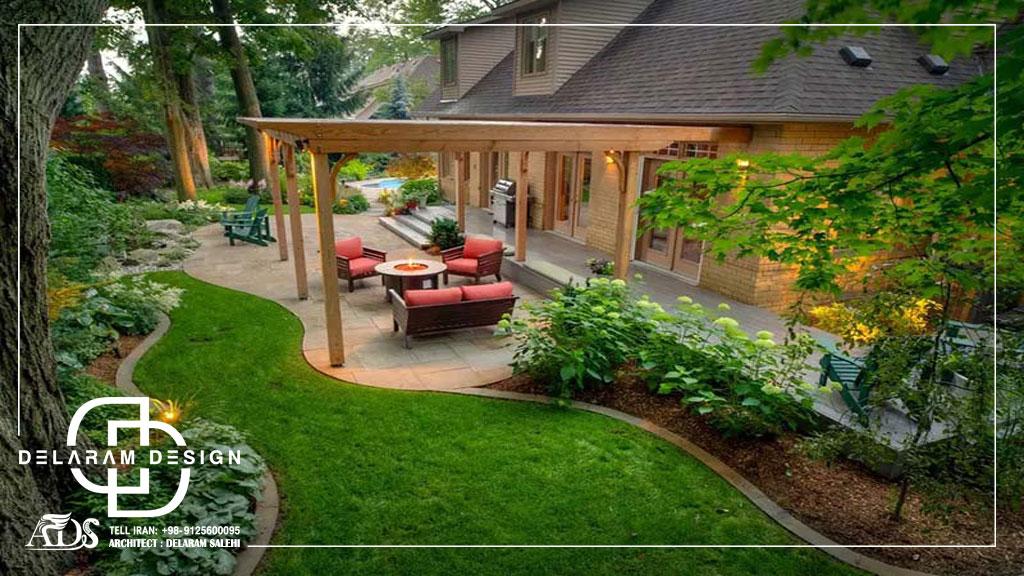 محوطه سازی در طراحی دکوراسیون منزل به چه معناست