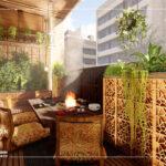 محوطه سازی اصولی و کاربردی در طراحی دکوراسیون منزل